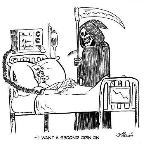 Black Death Cartoon